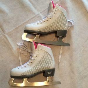 Riedell 113 Sparkle Women'sFigureSkates White/Pink